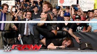 Chris Jericho demands an apology from Dean Ambrose: Raw, April 25, 2016