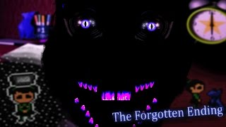 SECRET MONSTER ORIGAMI CAT    Five Nights at Candy's 3 Forgotten Ending (Five Nights at Freddys)