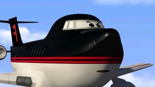 Cartoons for children planes - Airport Diary - Follow the rules, Forceking! (cartoon 19)