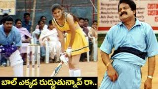 Cricket Match ( బాల్ ఎక్కడ రుద్దుతున్నావ్ రా..) | Ultimate Comedy Scene | Volga Videos