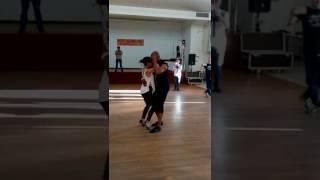 Ws bachata Jerry et Cannelle . Soirée Cap Danse 29/04/2017. Laxou