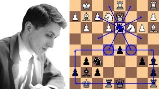 Bobby Fischer's 21-move brilliancy