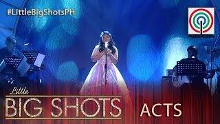 Little Big Shots Philippines: Elha | 13-year-old Big Shot Belter