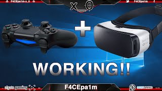 Get PS4 Controller with Gear VR + Samsung S6 Working!!  (How to Tutorial)
