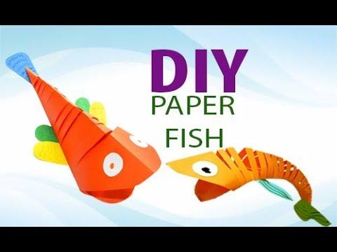 Поделки из цветной бумаги видео оригами
