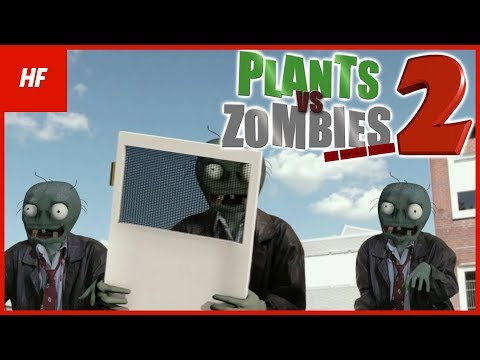 Plants VS Zombies IN REAL LIFE 2 FAN MADE by HETHFILMS