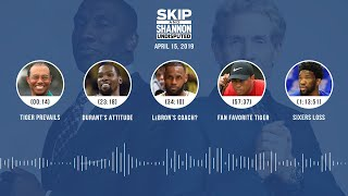 UNDISPUTED Audio Podcast (4.15.19) with Skip Bayless and Shannon Sharpe | UNDISPUTED