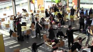 Winchester Flash Mobs - Canteen Mexican Standoff