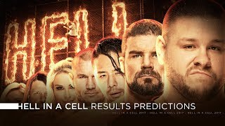 WWE Hell in a Cell 2017 - Results Predictions