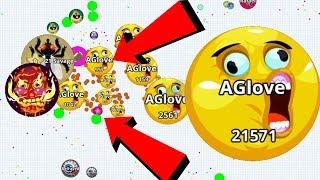 Agar.io Noob Team Killer Solo Boss is for Real Agar.io Mobile Gameplay
