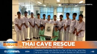 Thai Cave Rescue: 12 boys to leave hospital this week