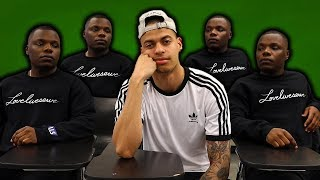 When you're the only lightskin in class