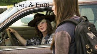 Carl & Enid   The Walking Dead (HD)