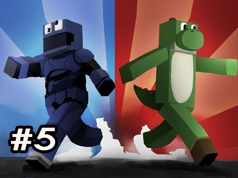 Minecraft Red And Blue RETURNS w Nova & SSoH Ep.5 HIDDEN DIAMONDS