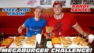 MEGABURGER Challenge with Randy Santel!