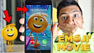 CALLING GENE FROM THE EMOJI MOVIE *OMG GENE CAME TO MY HOUSE*