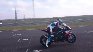 BMW S1000RR 2015 Launch Control Start