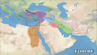 Timeline map of ancient civilizations of IRAN, 5000BC to 1AD!
