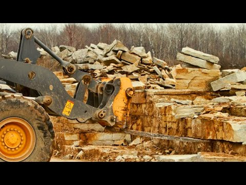 From Quarry to Natural Stone Veneer - The Quarry Mill