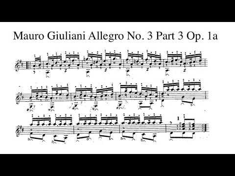 Xxx Mp4 Mauro Giuliani Allegro No 3 Op 1a Parte III Played By Kiankou 3gp Sex
