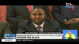 Baa la njaa: Wabunge wa ODM wamsuta DP Ruto