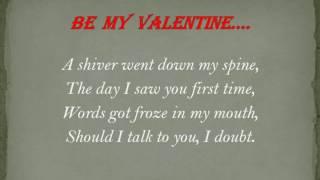 Dy poetry hub| Be my valentine romantic poetry.