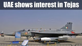 UAE 'interested' in HAL-made light combat aircraft Tejas