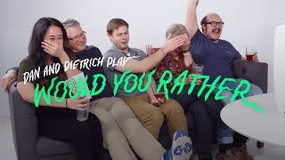 Watch Porn With Your Parents Or Describe Your First Sexual Experience | Would You Rather? | Cut