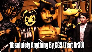 "BENDY AND THE INK MACHINE SONG (ft. OR3O) ▶ ""Absolutely Anything"" [SFM ANIMATION] 