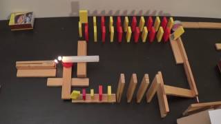 Dominoes and Fire