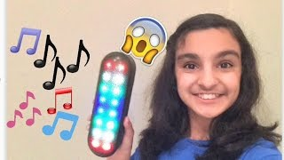 Trading A Paperclip For Light-Up Speaker!
