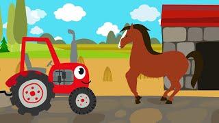 Песенки для детей - Животные - развивающая детская песенка - загадка для детей малышей