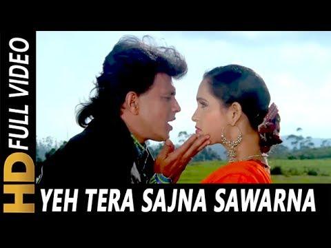 Xxx Mp4 Yeh Tera Sajna Sawarna Alka Yagnik Kumar Sanu Cheetah 1994 HD Songs Mithun Chakraborty 3gp Sex
