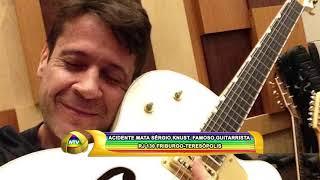 ACIDENTE MATA SERGIO KNUST FAMOSO GUITARRISTA   RJ 130 FRIBURGO TERESÓPOLIS