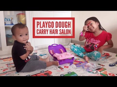 Zara Cute - mainan anak Playgo Dough Carry Hair Salon | creative | melatih imajinasi