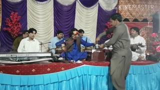 Pashto mast maidani saaz in my cousin wedding (Azghar Iqbal maidani programe )
