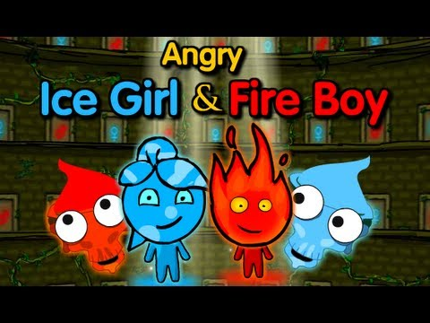 Angry Ice Girl and Fire Boy Walkthrough
