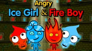 Angry Ice Girl and Fire Boy-Walkthrough