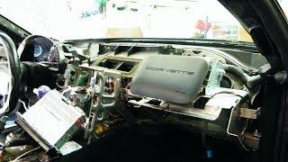 1998 C5 Corvette Dash Pad Removal   03/20/2014