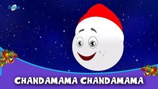 Chandamama Chandamama (Christmas Special) - Rhymes In Hindi | Hindi Balgeet