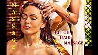 Hot Oil Head Massage Procedure for Growing Hair, Hair fall, Dandruff, Dry Hair