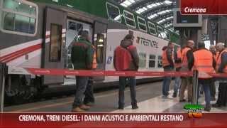 Cremona, treni diesel: i danni acustici e ambientali restano