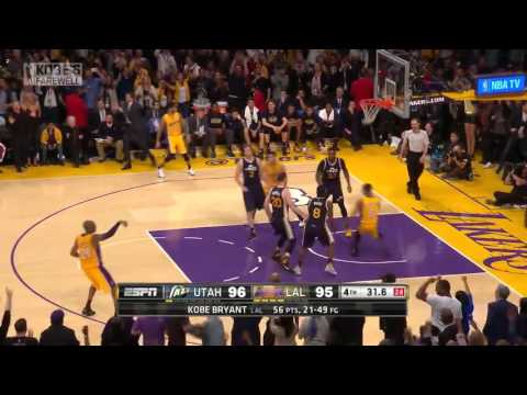Kobe Bryant - CLUTCH shots in