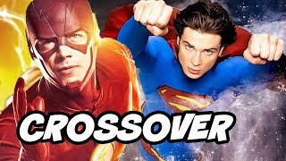 The Flash Season 4 Superman Smallville Crossover Episode Theory