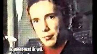 SEX PISTOLS - JOHNNY ROTTEN INTERVIEW 1977