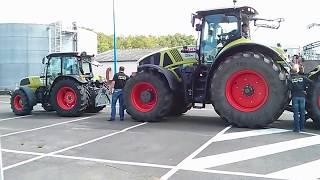 Claas Tractor Axion 950 / 100ans @ Le mans