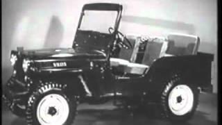 بدايه تصنيع السيارات الجيب Beginning of the manufacturing jeeps