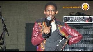 SATMA AWARDS DAY 1    SOUTH AFRICA COMEDY SHOW Simphiwe Shembe  UNIZULU   BHEKEZULU HALL  02 OCT 201