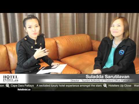 Hotelintel Pattaya Cholburi TAT ททท Director Suladda Sarutilavan Interview with Wimintra Jangnin