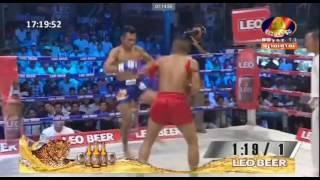 Bayon Boxing  Chan Rathana Vs Thai 09 July 2017